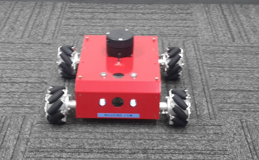 4WD点検ロボットRED