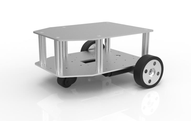 二輪駆動台車ロボットキット