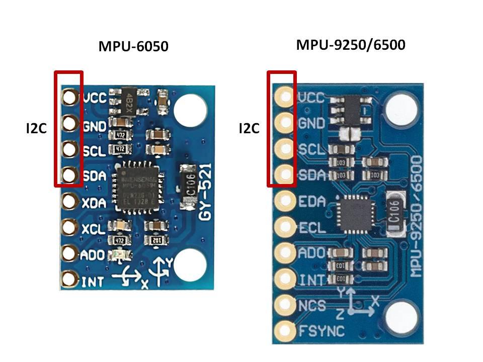 mpu6050-mpu9250